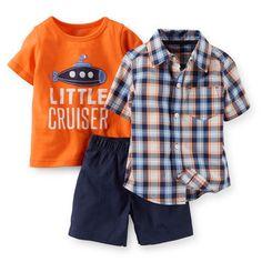 Carters-Boys-3-piece-Playwear-Set-Blue-and-Orange-Little-Cruiser