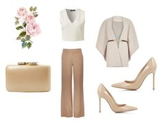 """simple pastel for life"" by bellatr on Polyvore featuring Wallis, Gianvito Rossi, River Island, Kayu, women's clothing, women's fashion, women, female, woman and misses"