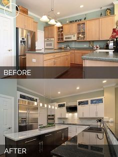Doug & Natalie's Kitchen Earlier than & After | House Transforming Contractors | Sebring Providers. >> Learn more by visiting the photo link
