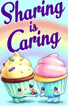 Cute and yummy cupcakes! Funny Food Puns, Cute Jokes, Food Humor, Food Cartoon, Cute Cartoon, Cartoon Humor, Baking Quotes, Cute Food Art, Love Puns