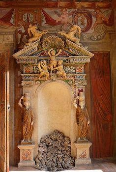 Fountain; Palazzo Altemps; Rome, Italy.