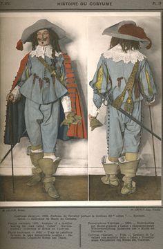 Histoire du Costume 1635