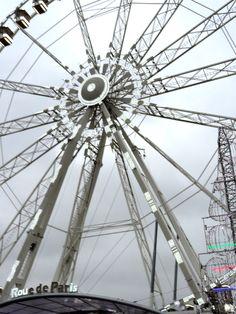 Paris Christmas Tree © Josée Noiseux Ferris Wheel, Fair Grounds