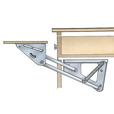 Under Drawer Swing Up Appliance Mechanism Rockler