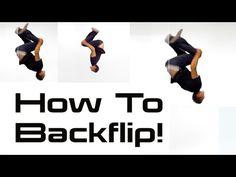 HOW TO DO A BACKFLIP | Parkour & Tricking Tutorials w/ Vinny Grosso - YouTube