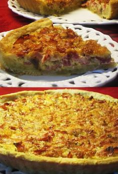 Quiche Lorraine, Pizza, Cheese, Cooking, Breakfast, Recipes, Food, Kitchen, Morning Coffee