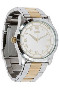 Flud Watches Men;s The Moment Watch in Gold  Silver, Watches