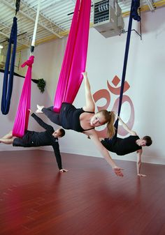 Sero-Gravity Aerial Yoga | p3 Yoga