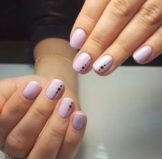 """This Is the Coolest Negative """"Space"""" Manicure We've Ever Seen in 2020 Fancy Nails, Pink Nails, Pretty Nails, Nagellack Design, Minimalist Nails, Manicure E Pedicure, Stylish Nails, Creative Nails, Perfect Nails"""