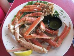 The Fish House - #crablegs #oakislandnc - Yes please!
