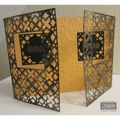 Moroccan Lattice - Diesire Create A Card A6 Metal Die By Crafters Companion