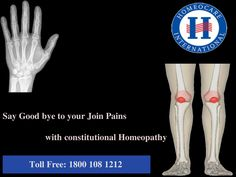 Arthritis generally causes in a point at where two or more bones come together, such as the hip or the knee. Joint pain can be caused by injury. Arthritis homeopathy treatment gives the best results. Homeocare International is the best place to visit our highly qualified Homeopathic specialist provides quality service.