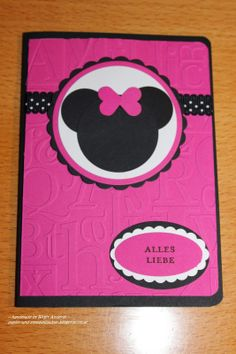 Stampin Up. Minnie Mouse,
