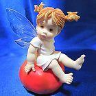 My Little Kitchen Fairies, Hot Tomato Fairie, 2001 - http://www.kitchenfairies.net/kitchen-fairies-for-sale-on-ebay/my-little-kitchen-fairies-hot-tomato-fairie-2001-3/