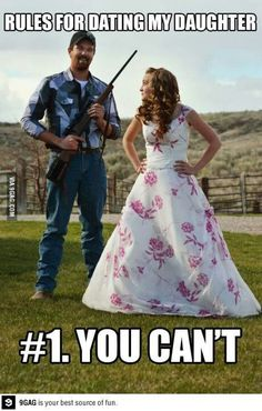 I want to have a daughter so I can do this to her boyfriend!
