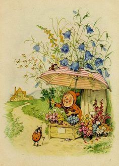 The country Dwarfs by Erich Heinemann Fritz Baumgarten illustrator