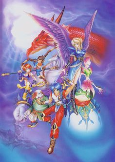 #BreathOfFire 2 Art & Pictures #SNES Box Art