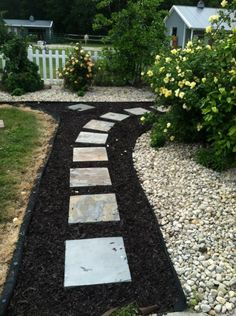Superior Creating A Rubber Mulch Patio | Pinterest | Rubber Mulch, Patios And Yards