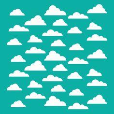 Diseño de la silueta tienda - Ver Diseño # 74082: máscara de nubes de fondo