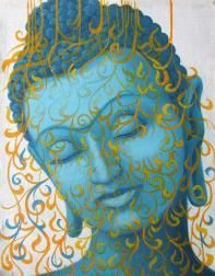 """You don't build a bond without being present."" ~ James Earl Jones Artist: Tara Catalan <3 lis"