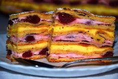 Niebiańskie smaki: WYŚMIENITE CIASTO FRANCUSKIE Z WIŚNIĄ