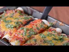 Easy Chicken Enchiladas Recipe - The Gunny Sack