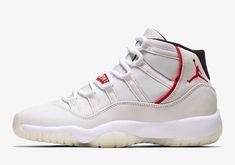 The Air Jordan 11 Platinum Tint Is Releasing In Grade School Sizes On Shoes, Nike Shoes, Sneakers Nike, Custom Sneakers, White Sneakers, Baskets, Football, Nike Air Jordan Retro, Sneaker Brands