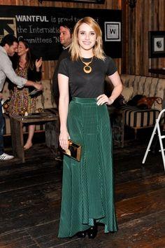 Emma Roberts em Vena Cava http://www.vogue.xl.pt/estilo/look-do-dia/5621-look-do-dia-acessivelmente-bem.html#