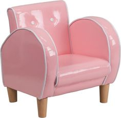 Hot Pink Patent Leather Arm Chair Home Decor Pinterest - Buy flash furniture kids car chair hr 10 red gg at beyond stores