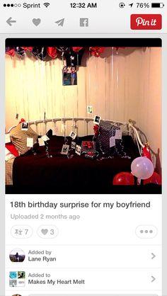 18 birthday idea for boyfriend