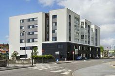 ZAC Parilly Ilot A - 64 logements locatifs sociaux BBC & une maison du Rhône, par XXL ATELIER
