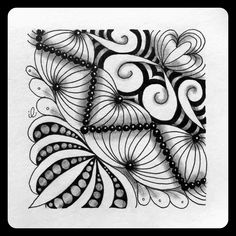 https://flic.kr/p/G1b1LN | Made by Joey #201 | Zentangle