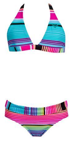 60a0e1e22f Roxy Girl    Border 70 s Halter 2-Piece Bikini Set