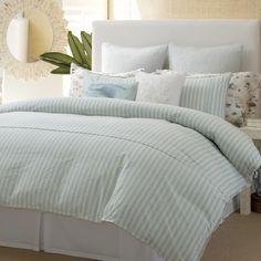 Tommy Bahama Surfside Stripe Comforter and Duvet Sets