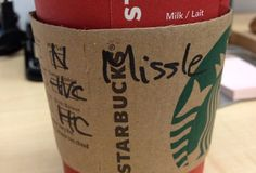 <b>They misspell names a latte.</b>