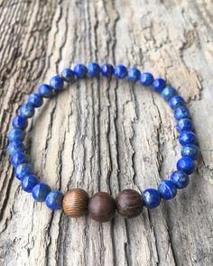 Lapis Lazuli Bracelet Healing Gemstone  Bead Bracelet