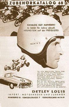 Detlev Louis - 1964 erster Versandhandelskatalog der Motorradbranche erscheint #Motorrad #Motorcycle #Motorbike #louis #detlevlouis #louismotorrad #detlev #louis