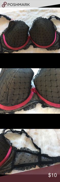 Super Sexy Lace Black Push Up Bra 34 DD Kardashian Perfect condition No Trades! Offers Welcome! Questions Welcome! All my items are new or in like new condition. I try my best to look for any flaws before listing an item. If ever I list an item with flaws, I will make sure to point them out and post a picture.  Shipping Charges are CRAZY!!! So bundle and make it worth it!!! Kardashian Kollection Intimates & Sleepwear Bras