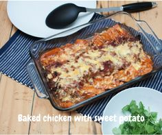 Slow cooked, oven baked chicken with sweet potato. Using basic herbs and spices and organic tomato, it will leave your mouth watering and wanting more!