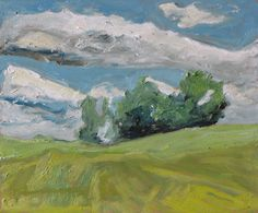 """Art Plein Air Landscape Oil Painting Original FREE SHIPPING Appalachian  Impressionist Quebec Canada Fournier """"Going With The Wind """" 10 x 12 by Fournierpainter on Etsy https://www.etsy.com/listing/102114199/art-plein-air-landscape-oil-painting"""