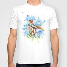Fox T-shirt by Anna Shell - $22.00