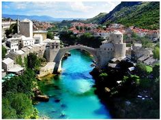 Mostar, Bosnia & Herzegovina.