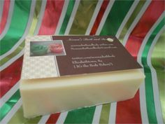 Banana nut bread goats milk glycerin soap. youll love the creamy feeling to this soap. non drying and smells so good! also makes a nice shaving bar. high lathering. if you love bakery. this soap is for you!   thick 6 oz. bar