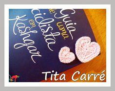 Tita Carré  Agulha e Tricot : Corações em crochet neste dia 8 de Março com os ma...
