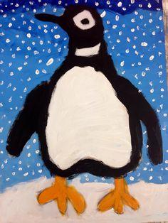 Winter! Painting children