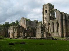 medieval ruins of Cistercian abby