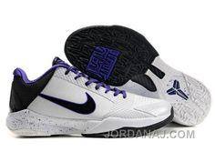 http://www.jordanaj.com/nike-zoom-kobe-v-shoes-white-black-purple-christmas-deals.html NIKE ZOOM KOBE V SHOES WHITE/BLACK/PURPLE CHRISTMAS DEALS Only $62.00 , Free Shipping!