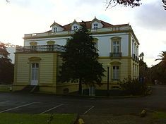 The rectory building of the University of the Azores, Ponta Delgada, São Miguel, Azores Ponta Delgada, Azores, Discovery, Competition, Portugal, University, Mansions, Country, House Styles