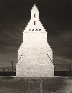 Wright Morris - Gano Grain Elevator, Western Kansas