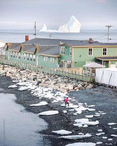 Ferryland, Canada Iceberg - Giant Iceberg Floating By Newfoundland, Canada Newfoundland Canada, Newfoundland And Labrador, Atlantic Canada, Prince Edward Island, New Brunswick, Come And See, Salt And Water, Canada Travel, Nova Scotia